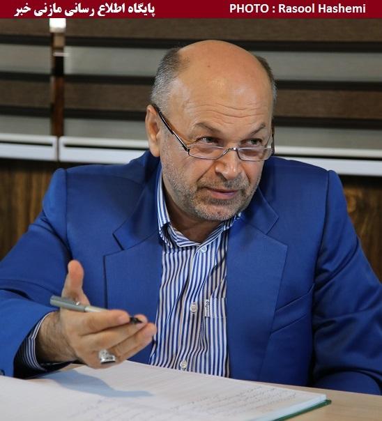 مدیرعامل سابق شرکت گاز مازندران در حاشیه بازدید از دفتر گروه خبری تکرار: خبرنگاران چشم بیدار جامعه هستند