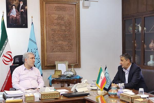 استاندار مازندران با  رئیس سازمان میراثفرهنگی دیدار کرد / تاکید بر همکاریهای مشترک / فرزانه با قدرت در مازندران به کارش ادامه خواهد