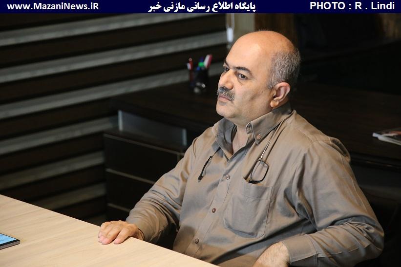 رئیس شورای شهر قائمشهر در گفتگو با «مازنی خبر» : در سال ۹۷ اتفاقات خوبی در شهر قائمشهر رقم میخورد / به تمام قول های خود در مورد استادیوم وطنی عمل کردیم