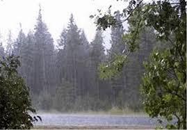 هشدار هواشناسی مازندران نسبت به بارشهای رگباری