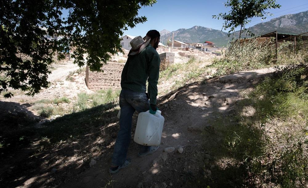 تصاویر /  بحران آب در روستاهای بخش چهاردانگه ساری