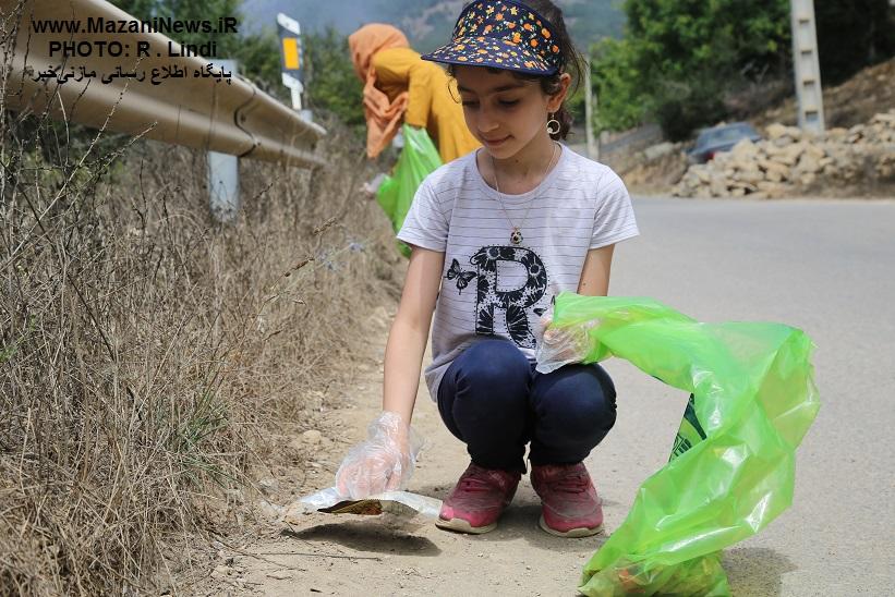 تصاویر/ «مازندران پاک» در روستای لیند در حد شعار نیست