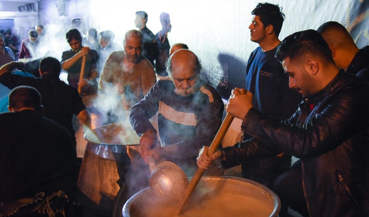 تصاویر / حلیم پزی در ساری