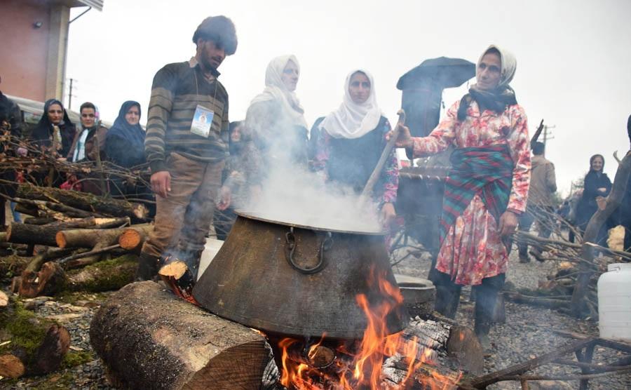 تصاویر / جشنواره آئینی دشو در بندپی