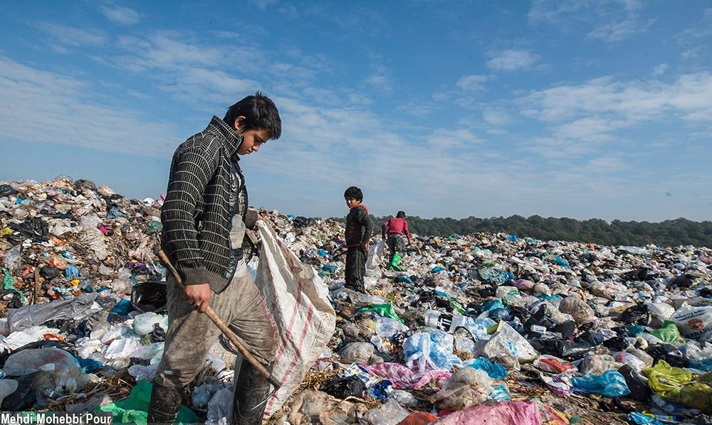 تصاویر / سطل زبالهای به وسعت جنگل های مازندران