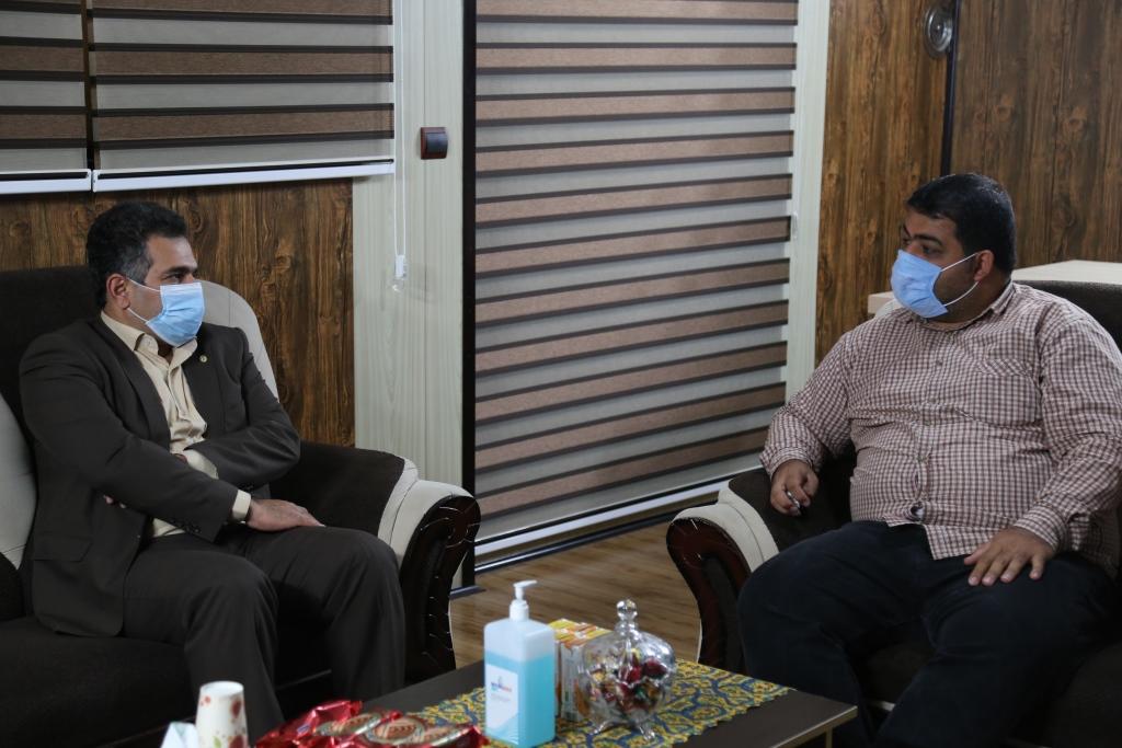 تصاویر / بازدید مدیران از دفتر تکرار به مناسبت روز خبرنگار (سری سوم)