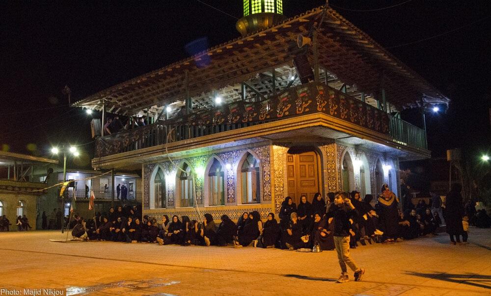 تصاویر / مجمع دهی؛ سنت اطعام عزاداران حسینی در روستای بیزکی جویبار