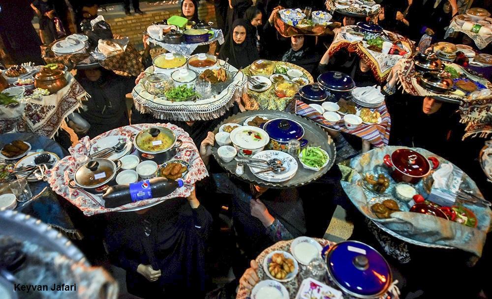 تصاویر / آیین سنتی مجمع پِلا در روستای کوهستان بهشهر