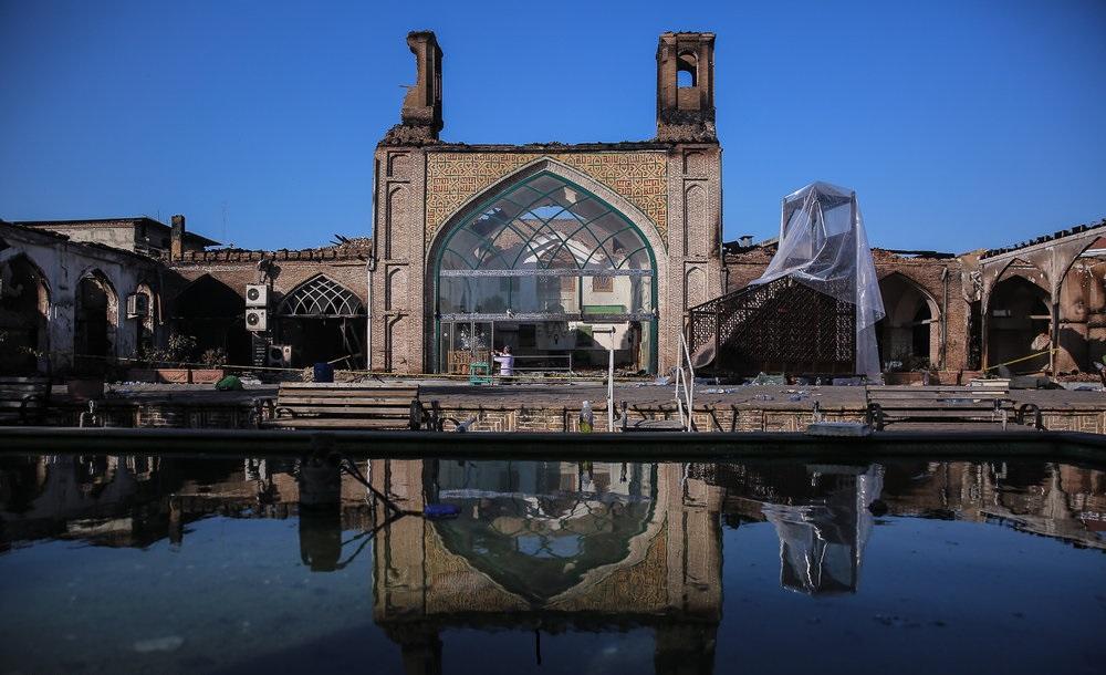 مسجد جامع ساری، میراث سوخته (بقلم وزیر راه و شهرسازی)