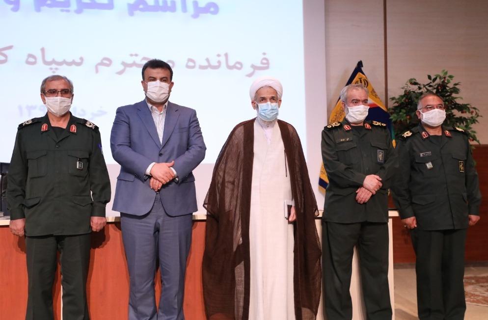 تصاویر / معارفه فرمانده سپاه کربلا مازندران