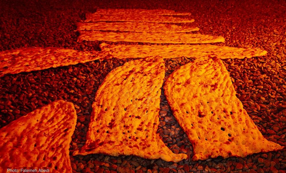 تصاویر / سنگک، نان ایرانی