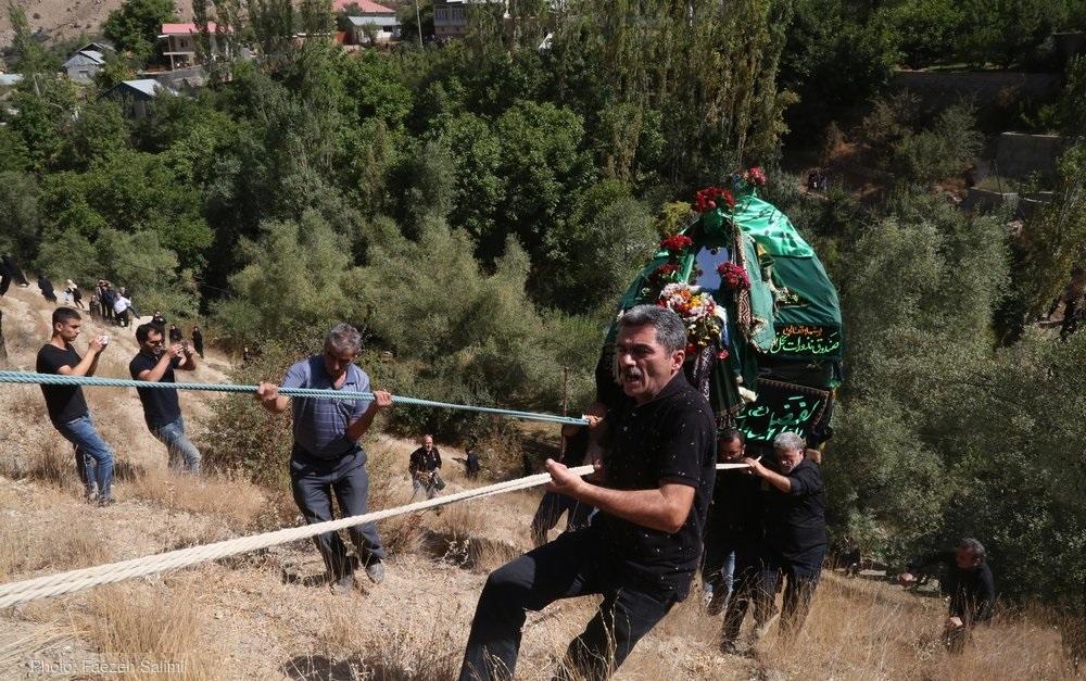 تصاویر /  آیین نخل گردانی در نوا آمل