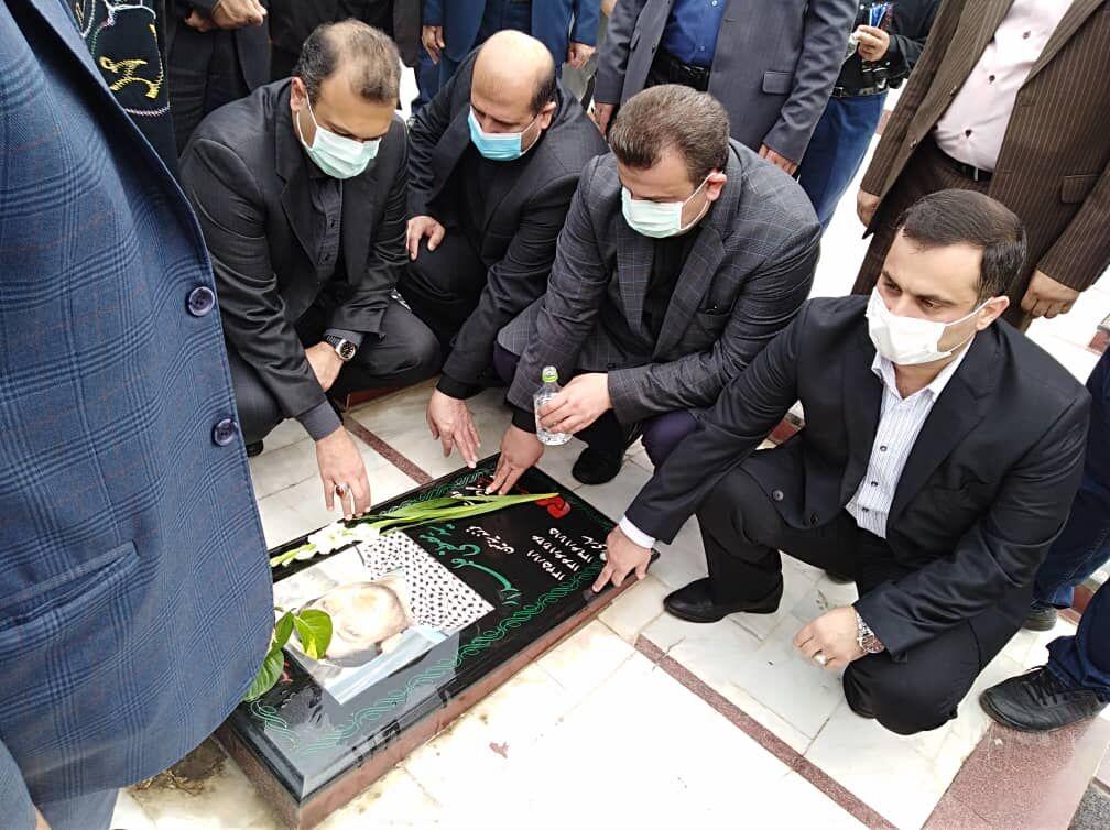 زنگ هفته دولت در مازندران از گلزار شهدا نواخته شد