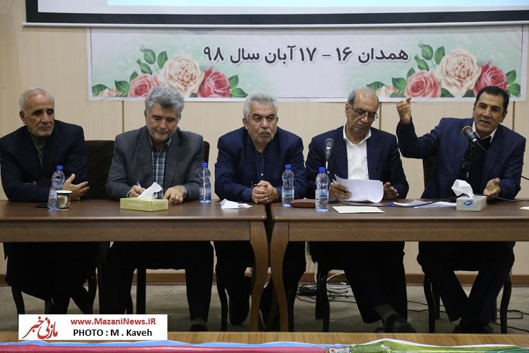 تصاویر / اردوی کارگران بازنشسته مازندران در همدان