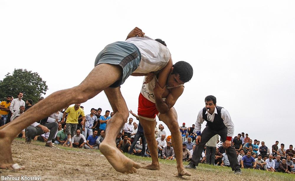 تصاویر / کشتی لوچو ؛ ورزش بومی اهالی مازندران