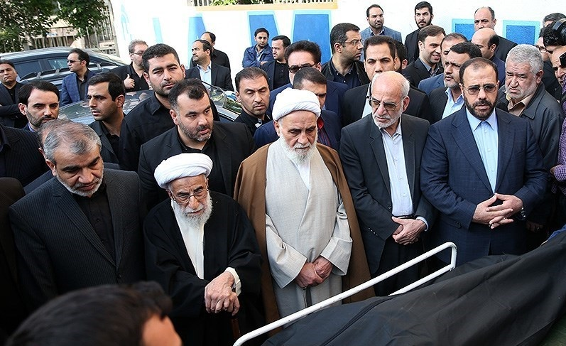 تصاویر / تشییع پیکر مرحوم علیزاده قائم مقام دبیر شورای نگهبان در تهران