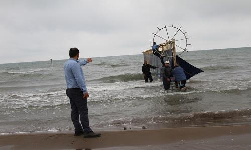تصاویر / آماده سازی طرح سالمسازی دریا در شهرستان فریدونکنار توسط شهرداری