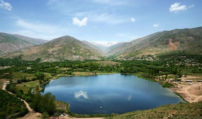 مرگ دریاچه «ولشت» در پس بی تدبیری مسئولان