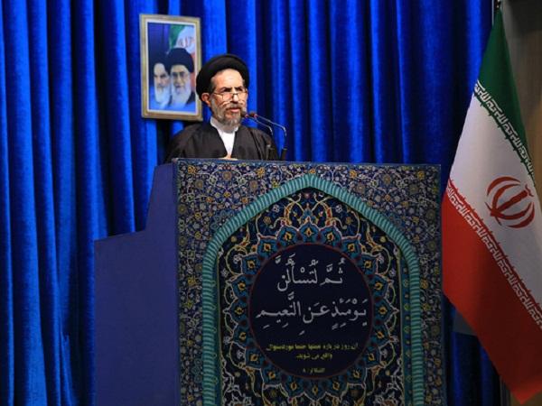 ابوترابی، خطیب جمعه تهران: در ناآرامیهای اخیر، شهروندانی بدون گناه جان خود را از دست دادند