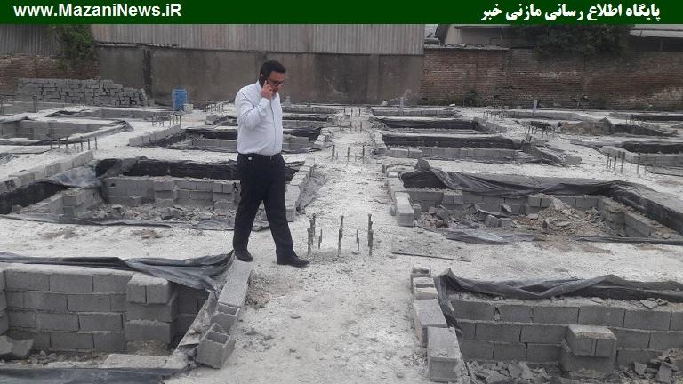 تصاویر / حضور روزانهی مدیرکل ورزش مازندران در استادیوم شهید وطنی