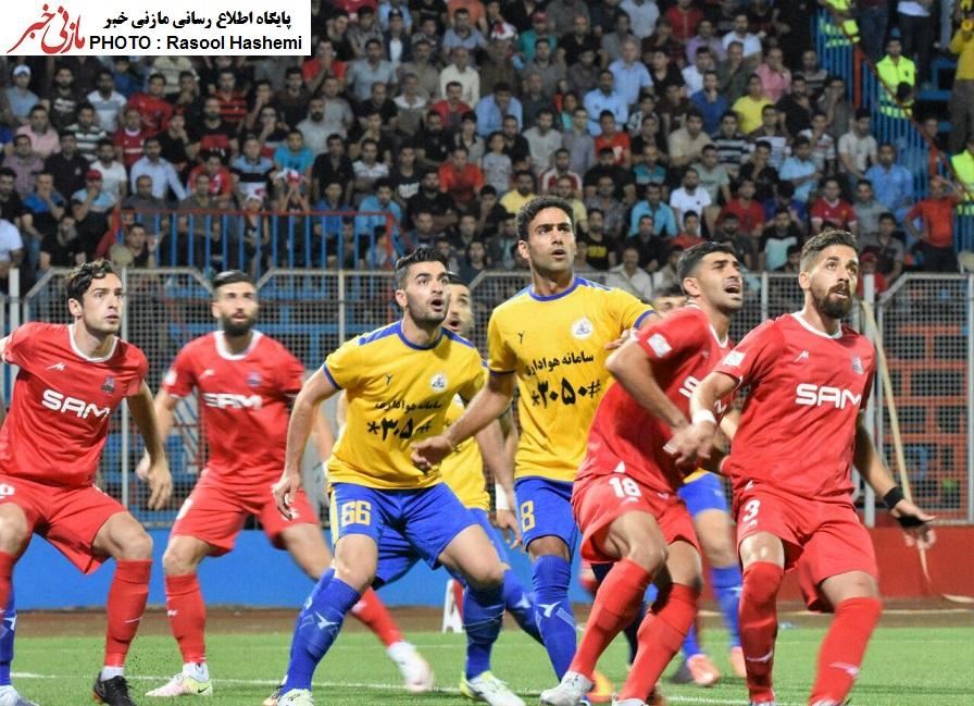 تصاویر/ اولین برد نساجی در تاریخ لیگ برتر فوتبال
