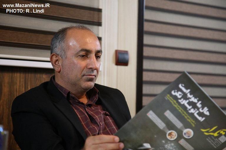 فرماندار سیمرغ در بازدید از دفتر گروه خبری تکرار: خبرنگاران می توانند در توسعه استان نقش پررنگی داشته باشند